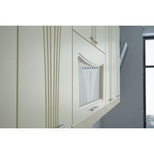 Купить Кухонный гарнитур Leko Лира 2.0/3 цвет ваниль/латте