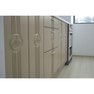 Купить Кухонный гарнитур Leko Лира 2.4/1 цвет ваниль/латте