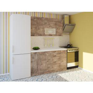 Купить Кухонный гарнитур Leko Сопрано 1.5/1 цвет пино