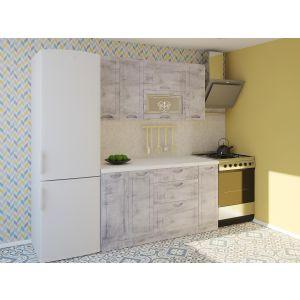Купить Кухонный гарнитур Leko Сопрано 1.5/1 цвет рамбла