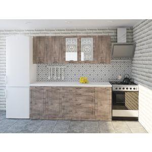 Купить Кухонный гарнитур Leko Сопрано 2.0/3 цвет пино