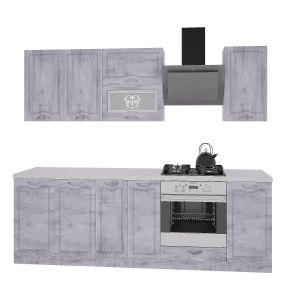 Купить Кухонный гарнитур Leko Сопрано 2.4/2 цвет рамбла