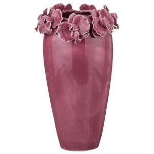 Купить Ваза Арти М 146-569 Орхидеи 15*15*27 см цвет розовый