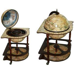 Купить Глобус-бар Русские подарки 47036 Сокровища древнего мира напольный 54*54*93 см