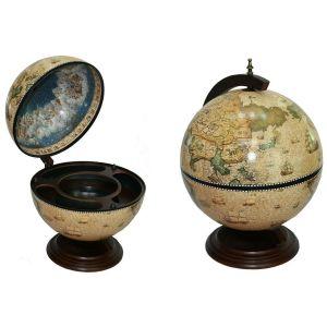 Купить Глобус-бар Русские подарки 47037 Сокровища древнего мира настольный 41*41*56 см