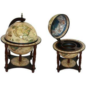 Купить Глобус-бар Русские подарки 47041 Сокровища древнего мира настольный 42*42*57 см