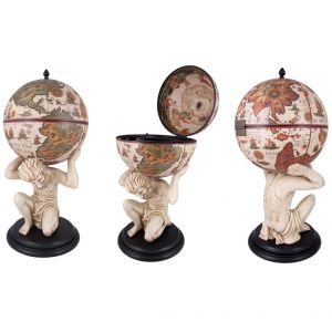 Купить Глобус-бар Русские подарки 47071 напольный 42*85 см