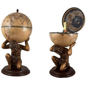 Купить Глобус-бар Русские подарки 47072 напольный 42*85 см