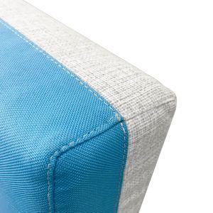 Купить Комплект подушек Аквилон КП 900.4 Бриз цвет neo azure/twist ash