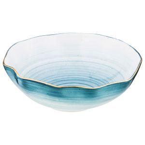 Купить Салатник Арти М 388-590 Колор де аква 6*18 см цвет синий