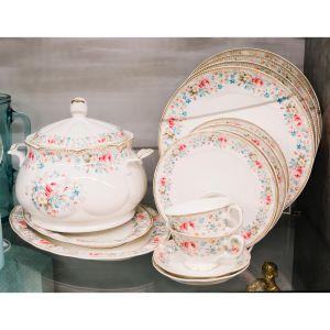 Купить Столовый набор Арти М 54-466 на 6 персон (24 предмета) Мадемуазель Кики цвет мультиколор