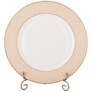 Купить Столовый набор Арти М 770-151 на 6 персон (19 предметов) цвет белый/золотой