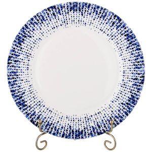 Купить Столовый набор Арти М 770-152 на 6 персон (19 предметов) цвет белый/синий