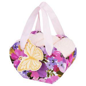 Купить Набор салфеток Арти М 813-073 (4 шт.) 30*30 цвет розовый