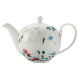 Купить Чайник заварочный Анна Лафарг MW504-FX0243 Primavera 1 л цвет белый/розовый/бирюзовый