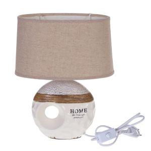 Купить Светильник РЕМЕКО 701408 30 см Е14 1,4 м цвет бежевый/коричневый