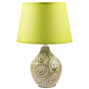 Купить Светильник Русские подарки 49504 Яркий стиль 32 см цвет зелёный