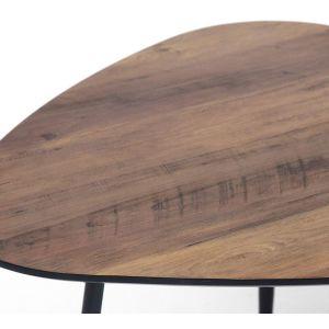 Купить Стол журнальный TetChair 5162 Giza цвет дерево/черный