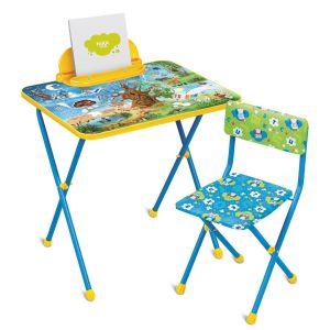Купить Комплект детской мебели Ника КП2/7 Хочу все знать (стол + стул + пенал)