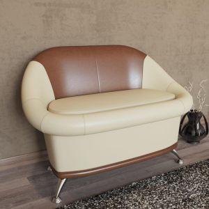Купить Диван Гранд Кволити 6-5154 Орион цвет бежевый/коричневый