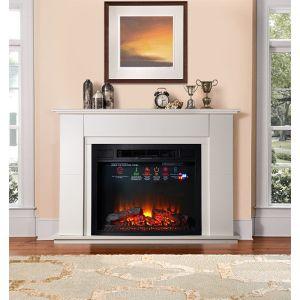 Купить Камин ИнтерФлейм Blanc ЕС c Antares 05-31 LED FX QUARTZ цвет белый