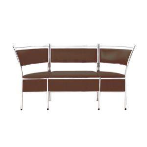 Купить Кухонный уголок Эклат ДК-1 1700*400*930 цвет коричневый