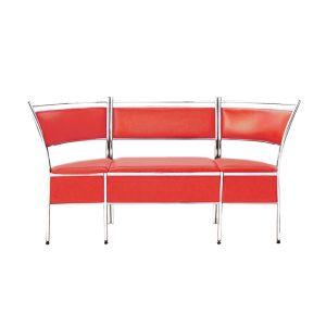 Купить Кухонный уголок Эклат ДК-1 1700*400*930 цвет красный
