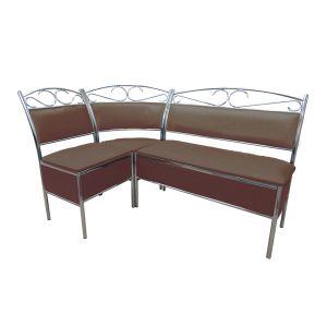 Купить Кухонный уголок Эклат КУ-1 1500*1000 цвет коричневый