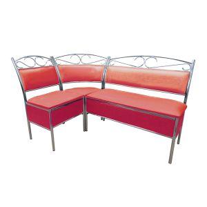 Купить Кухонный уголок Эклат КУ-1 1500*1000 цвет красный