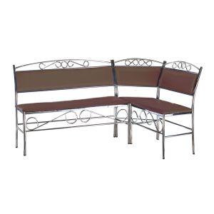 Купить Кухонный уголок Эклат КУ-2 1500*1000 цвет коричневый