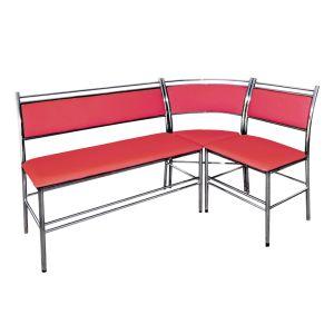 Купить Кухонный уголок Эклат КУ-6 1500*1000 цвет красный