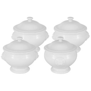 Купить Столовый набор Анна Лафарг MW655-P254000 (4 чашки) цвет белый