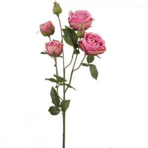 Купить Цветок искусственный Арти М 25-401 68 см цвет зелёный/розовый