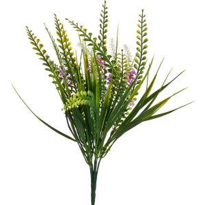 Купить Цветок искусственный Арти М 25-426 38 см цвет зелёный