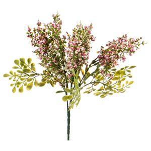 Купить Цветок искусственный Арти М 25-619 10*10*30 см цвет зелёный/розовый