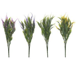 Купить Цветок искусственный РЕМЕКО 209342 Вереск 10*10*45 cм (4 варианта) цвет зелёный