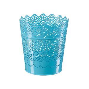 Купить Кашпо Магамакс А061 15,2*11,6*17 см цвет синий