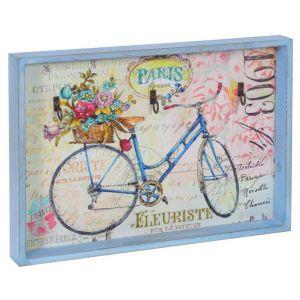 Купить Ключница РЕМЕКО 611417 34*3,5*24 см цвет голубой