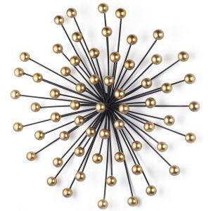 Купить Панно Анкона 91009 Tomas Stern 49*48*13 см цвет чёрный/золото