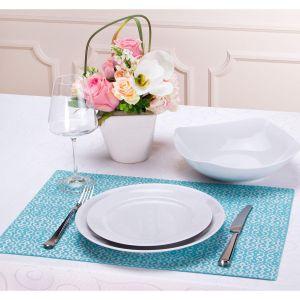 Купить Плейсмет Арти М 828-130 Деко 33*48 см цвет голубой/серебро
