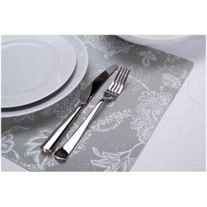 Купить Плейсмет Арти М 828-134 Эмилия 33*48 см цвет зеленый/серебро