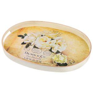 Купить Поднос Арти М 106-500 с ручками Старинный прованс 39,5*27 см цвет белый/бежевый/золото