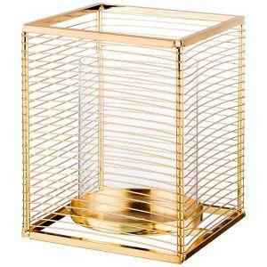 Купить Подсвечник Арти М 06-238 13,5*13,5*17 см цвет золото
