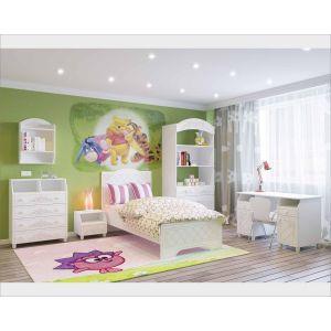 Купить Детская Компасс Соня цвет белый структурный/белое дерево