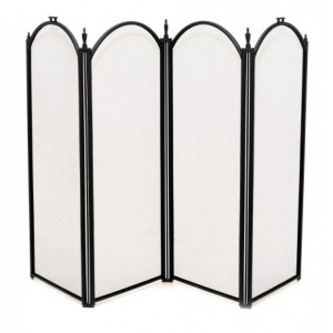 Купить Экран для камина РеалФлейм 41010 ВК (R) цвет чёрный