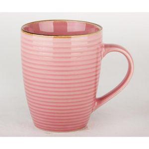 Купить Кружка КОРАЛЛ 74960011 320 мл бочка Розовые мечты цвет розовый