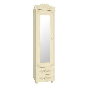 Купить Пенал Компасс АС-1 с зеркалом Ассоль плюс цвет ваниль