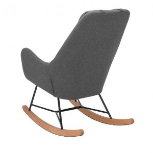 Купить Кресло-качалка Мебель Импэкс Duglas цвет KR908-17 cерый