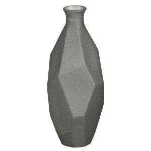 Купить Ваза Арти М 600-757 Оригами 34 см цвет серый