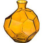 Ваза Арти М 600-759 Оригами 18 см цвет жёлтый